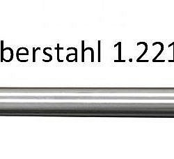 Silberstahl 1.2210-Rund