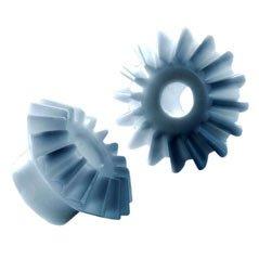 Kegelzahnräder - Kunststoff Modul 0.5 - 3.5 gespritzt 1:1
