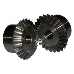 Kegelzahnräder -Stahl C45 Modul 1 - 5