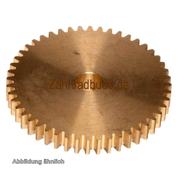 Zahnrad 12Z Messing - gerade verzahnt Modul 0.3