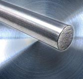 Stainless steel, round steel